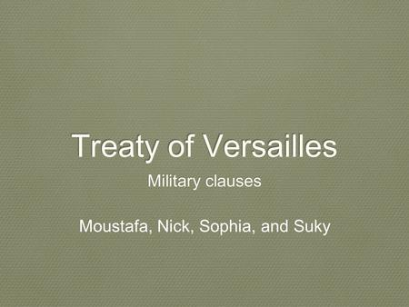 how did the versailles treaty help Find out more about the history of treaty of versailles, including videos, interesting articles, pictures, historical features and more get all the facts on historycom.
