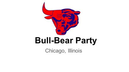 Bull-Bear Party Chicago, Illinois. 1.No rifle, shotgun or handgun may be sold to a minor under 18 years of age, a convicted felon, or a person under indictment.