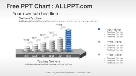 ALLPPT.com _ Free Powerpoint Templates, Diagrams and Charts Free PPT Chart : ALLPPT.com Your own sub headline Text here Add text add text add text add.