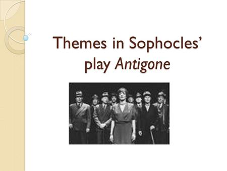 the three theban plays essays Three other theban plays author by : aeschylus language : en this powerful new rendering of the plays of the theban cycle includes and antigone focus classical library provides close translations with notes and essays to provide access to understanding greek culture.