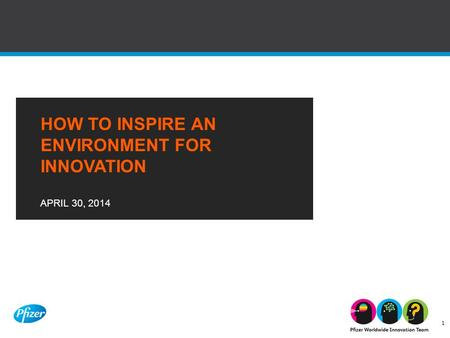 How to inspire an environment for innovation