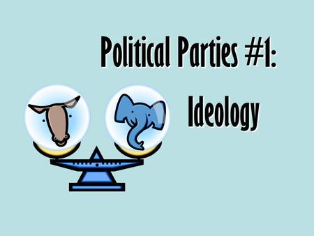 Political Parties #1: Ideology. Which political party are you? Answer true or false according to your opinion. 1.Getting rid of or reducing the restrictions.