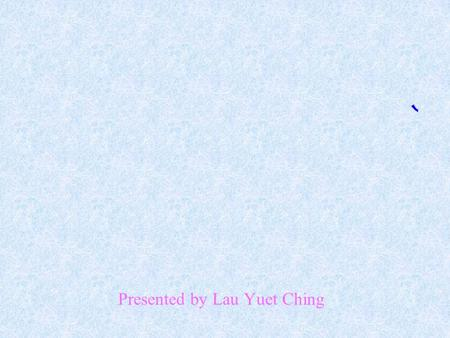 Presented by Lau Yuet Ching Do you have a healthy diet? Let's watch a video about the Brown family.