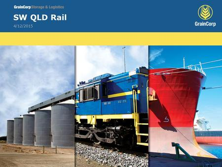 4/12/2015 SW QLD Rail. 2 Increase Rail use? Cost Below Rail Above Rail.