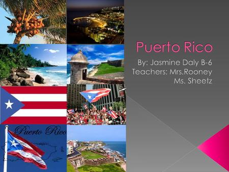  Puerto Rico is starting to take on American ways. Puerto Rican culture is mixed in many shapes and forms. Some cultural myth say that if you are a child.