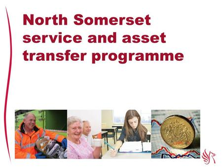North Somerset service and asset transfer programme.