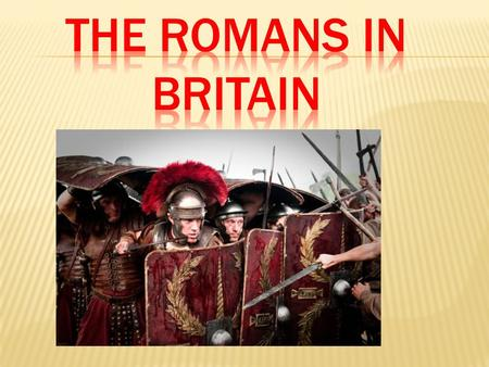 The Romans arrived in Britain in 55 BC. The Roman Army had been fighting in Gaul (France) and the Britons, who lived in the British Isles, had been helping.