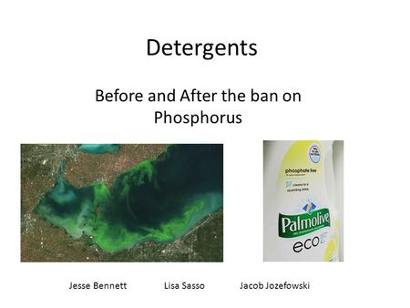 Before and After the ban on Phosphorus