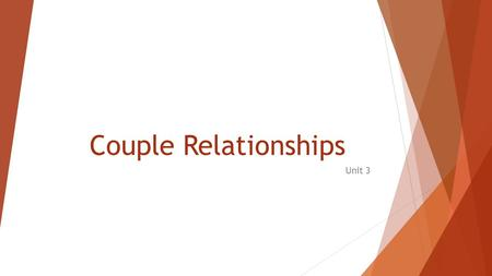 Couple Relationships Unit 3. Hi Everyone :D  Ms. Adam  Teacher Candidate from OISE (Ontario Institute of Studies in Education) with the University of.