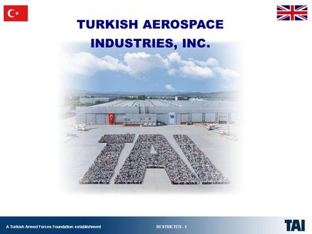 TURKISH AEROSPACE INDUSTRIES, INC..