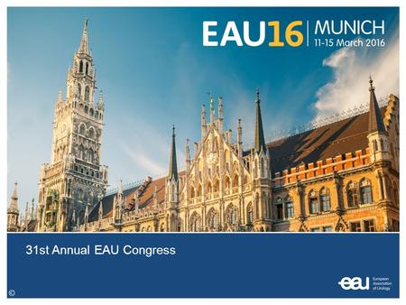 31st Annual EAU Congress. ePoster Instructions ePoster shall be created in PowerPoint (.pptx) format with standard resolution 1024 px x 768 px (standard.
