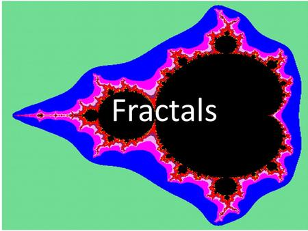 Fractals. Dimensions Traditional Informal Definition: The dimension of a set is the number of perpendicular direction pairs you can move and stay within.