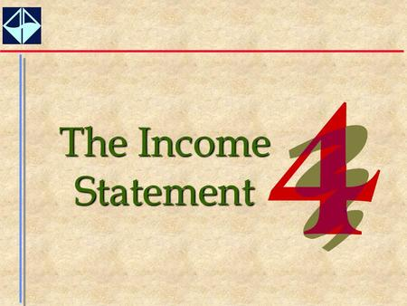 The Income Statement. 2  Define the concept of income.  Explain why an income measure is important.  Explain how income is measured, including the.
