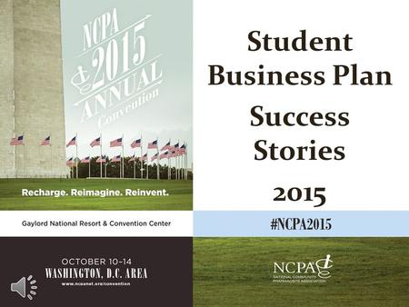 Student Business Plan Success Stories 2015 Erik Nelson Sixth Avenue Medical Pharmacy Spokane, Washington.