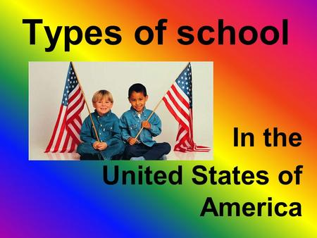 an overview of the united states education system Physical education - overview, preparation of teachers  and england–influenced the early development of physical education in the united states german .
