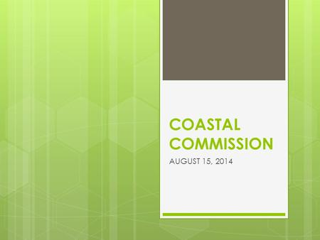 COASTAL COMMISSION AUGUST 15, 2014. SIGNIFICANT IMPACTS OF THE PROPOSED RENOVATION OF MARINERS VILLAGE  ELIMINATES THE LAST GREAT BLUE HERON ROOKERY.