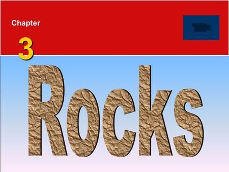 3 Chapter 3. Rocks 3.1 The Rock Cycle  Rocks are any solid mass of mineral or mineral-like matter occurring naturally as a part of our planet.  Types.