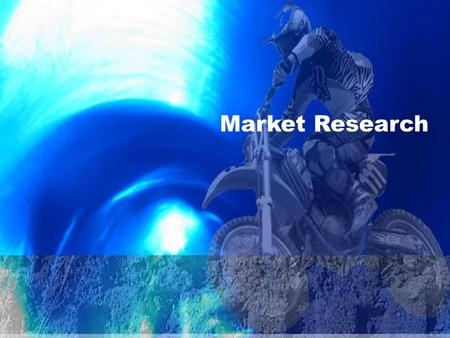 Market Research. 4.7 Marketing Applications Market Research  Creates an opportunity for companies to get to know their customers  Provides relevant.