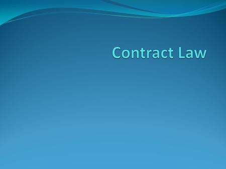 Contract Contracts are agreements between two or more parties that create obligations. Characteristics of Contracts Valid, void, voidable or unenforceable.