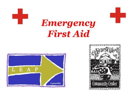 Emergency First Aid. I.C.E. your cell phone! I.C.E. your refrigerator!