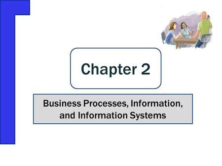 Business Processes, Information, and Information Systems Chapter 2.