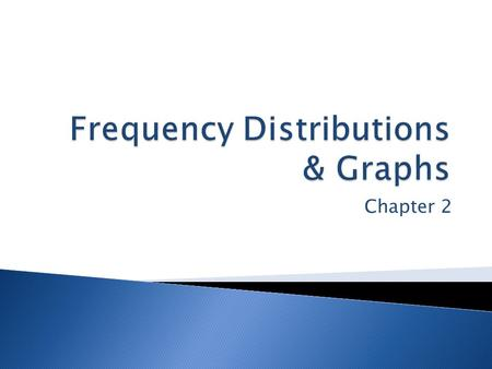 Chapter 2.  2-1 Introduction  2-2 Organizing Data  2-3 Histograms, Frequency Polygons, and Ogives  2-4 Other Types of Graphs  2-5 Summary.