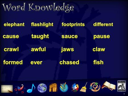 "Word Knowledge T T Word Knowledge Activity T What word is the antonym of the word ""same""? Use this word in a sentence. The word formed has the /or/"