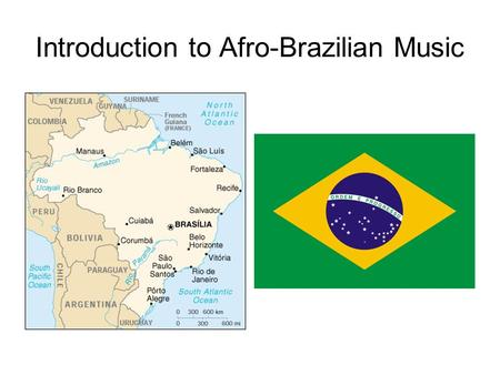 Introduction to Afro-Brazilian Music. Cultural/Ethnic Influences Indigenous peoples Including Guarani, Tupi, Kayapo, Yanomami Portuguese (European) Other.
