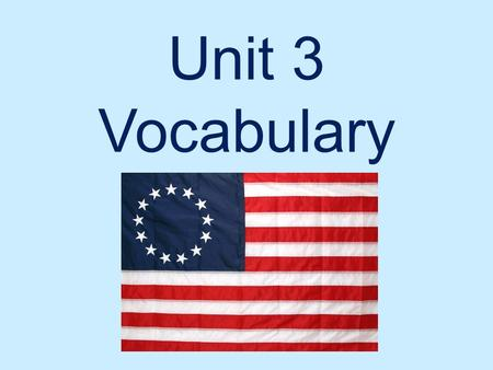 Unit 3 Vocabulary. Legislature Assembly of elected members with the power to amend, pass, and repeal laws in the government.