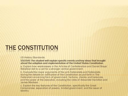 the question of whether the articles of confederation was freedom or order The purpose of the articles of confederation was to create a confederation of  states whereby each state retained its sovereignty, freedom, and independence, .