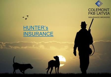 HUNTER's INSURANCE. THE LLOYD'S MARKET The Lloyd's market is home to 94 syndicates, which offer an unrivalled concentration of specialist underwriting.