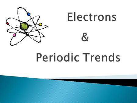  The arrangement of electrons in an atom helps determine the properties and behavior of that atom.