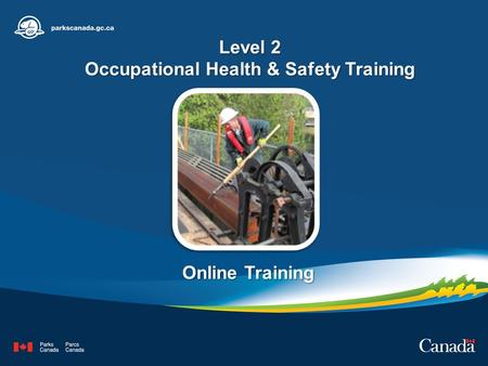 Level 2 Occupational Health & Safety Training Online Training.