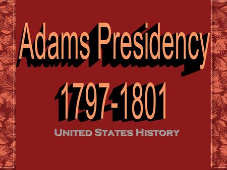 United States History United States History Election of 1796 Issues in the Young Nation aren't speaking to each otherFederalists and Democratic- Republicans.