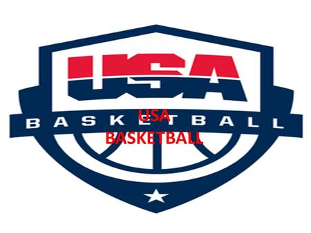 USA BASKETBALL. NBA Most of the US players play in the NBA, because it is where the major players come from. The NBA( National Basketball Association)