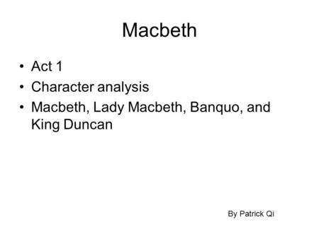 macbeths conniving lady essay