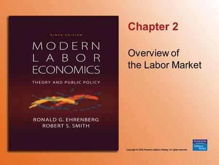 Chapter 2 Overview of the Labor Market. Copyright © 2006 Pearson Addison-Wesley. All rights reserved. 2-2 FIGURE 2.1 Labor Force Status of the U.S. Adult.