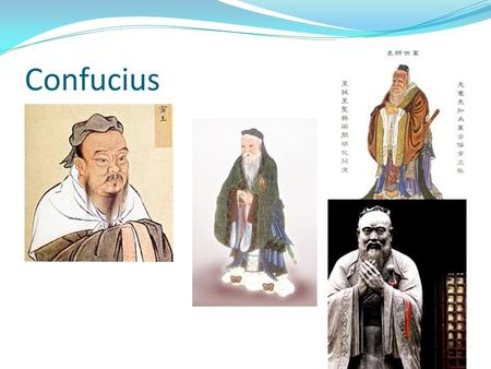 Confucius. Objectives Ancient China Tennessee State Standards 6.33 Analyze the structure of the Zhou Dynasty and the emergence of Taoism, Confucianism,