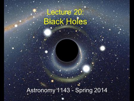 black holes lectures - photo #44