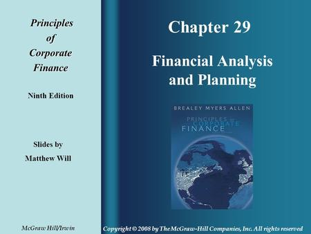 fundamentals of corporate finance ninth canadian edition pdf