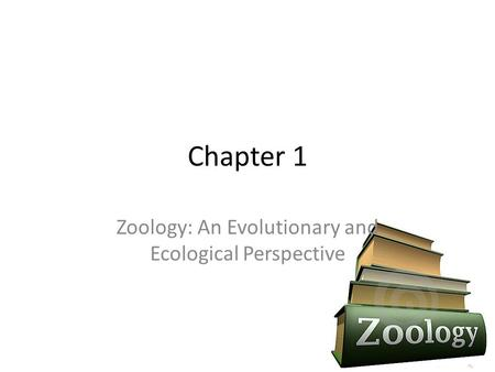 Zoology: An Evolutionary and Ecological Perspective