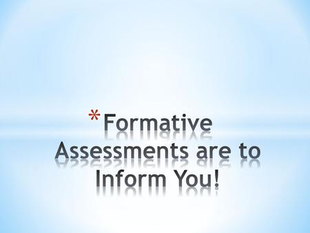 Pocketmod.com * I can use routine formative assessments during my lessons everyday. * I can use reflective formative assessments during some of my.