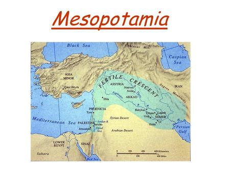 Mesopotamia. Geography Rich farmland between two life giving rivers. Tigris and Euphrates Rivers supplied rich farmland, food, clay for building and strong.