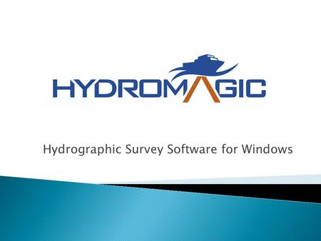Hydrographic Survey Software for Windows