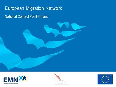 European Migration Network National Contact Point Finland.
