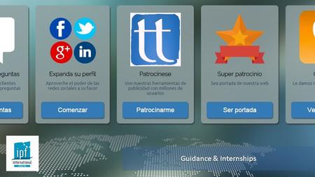 Your e-road to languages Guidance & Internships. Apprenticeship coordinator Alberto Postigo Office: +34 952 214 371