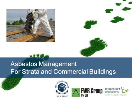 Page  1 Asbestos Management For Strata and Commercial Buildings.