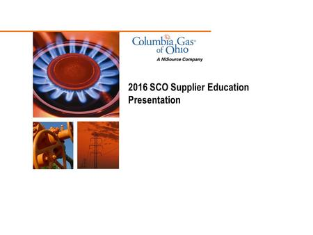 2016 SCO Supplier Education Presentation. 2 Introduction and Background Items Addressed Introduction and Background SCO Auction Process Delivery Obligation.