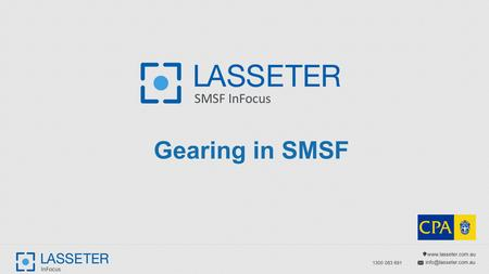 1300 083 691 Gearing in SMSF.