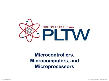 Microcontrollers, Microcomputers, and Microprocessors
